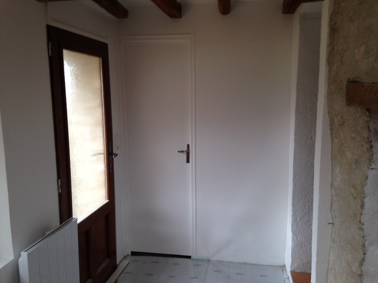 Peinture murs, plafond et portes