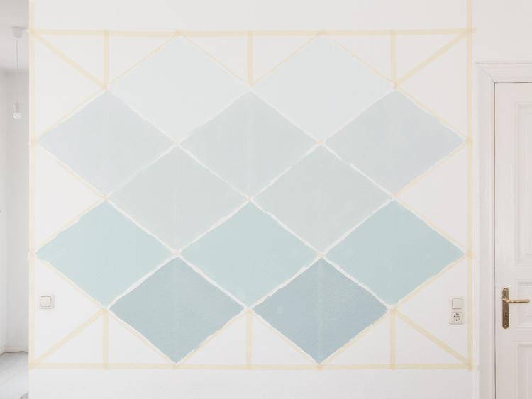 Mur géometrique