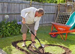 Comment fabriquer un circuit dans son jardin