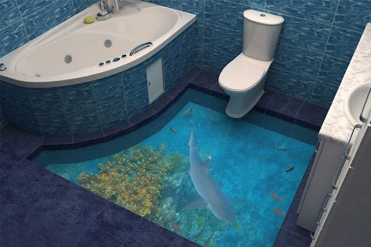 revêtement-sol-3d-deco-toilettes