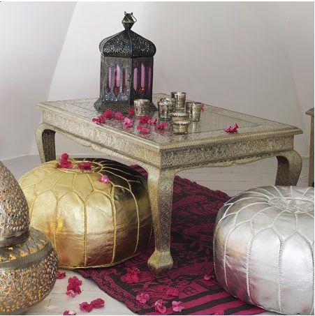 Meubles décoration orientale