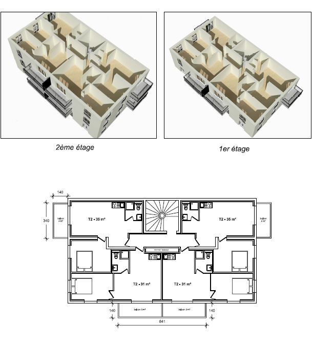 Projet immobilier 13 logements