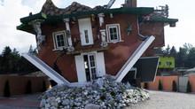 Insolite : une maison à l'envers