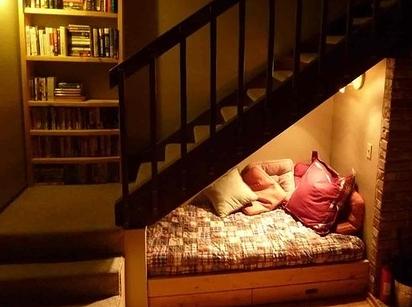 esapce sous escalier