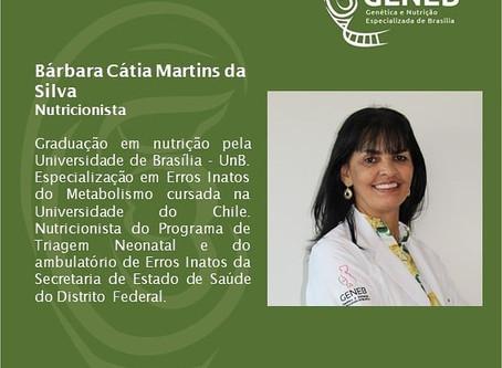 Bárbara Cátia Martins da Silva - Nutricionista