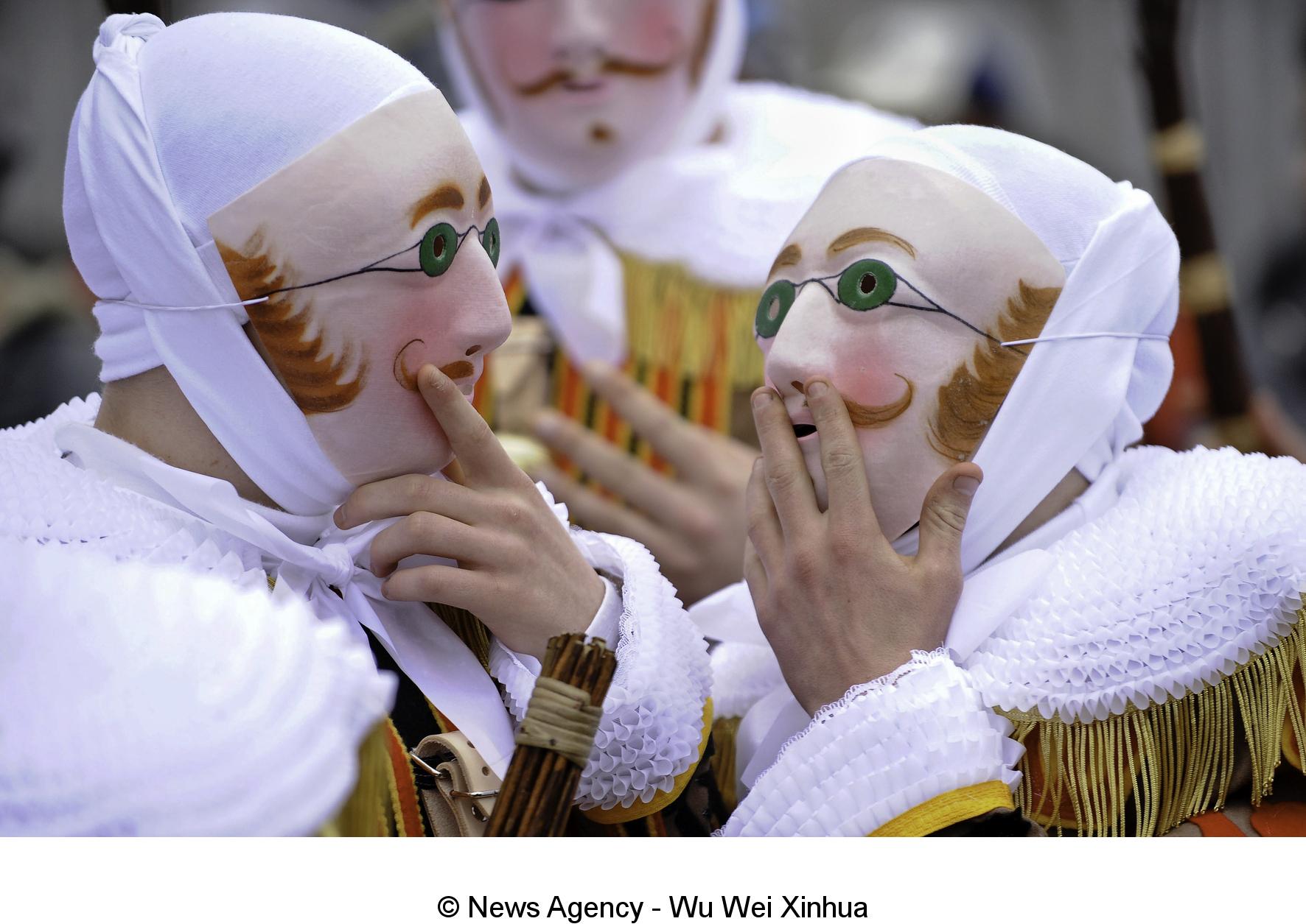 De Carnaval van Binche