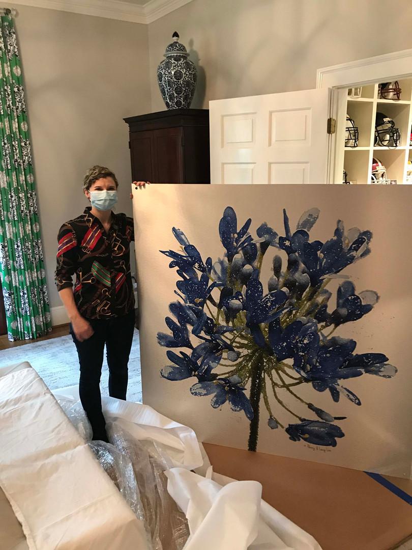 Blue Agapanthus