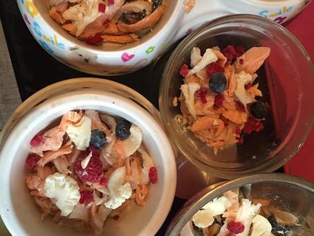 Eine gesunde Ernährung unsere Zwergen