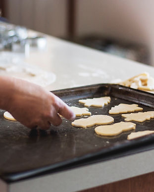 Baking Butter Cookies