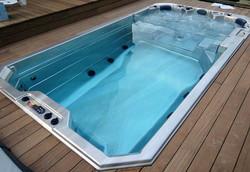 Spa de nage à contre courant