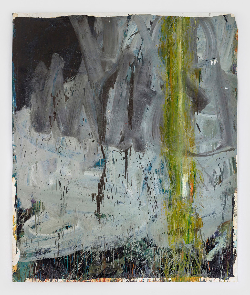 sem título óleo e esmalte sobre tela 151x125cm