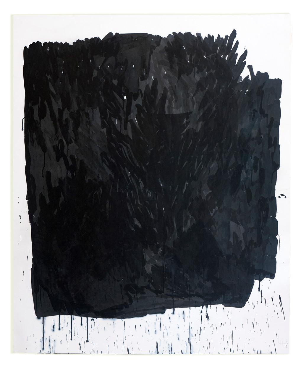 sem título 2015 nanquin sobre papel algodão 150x135cm