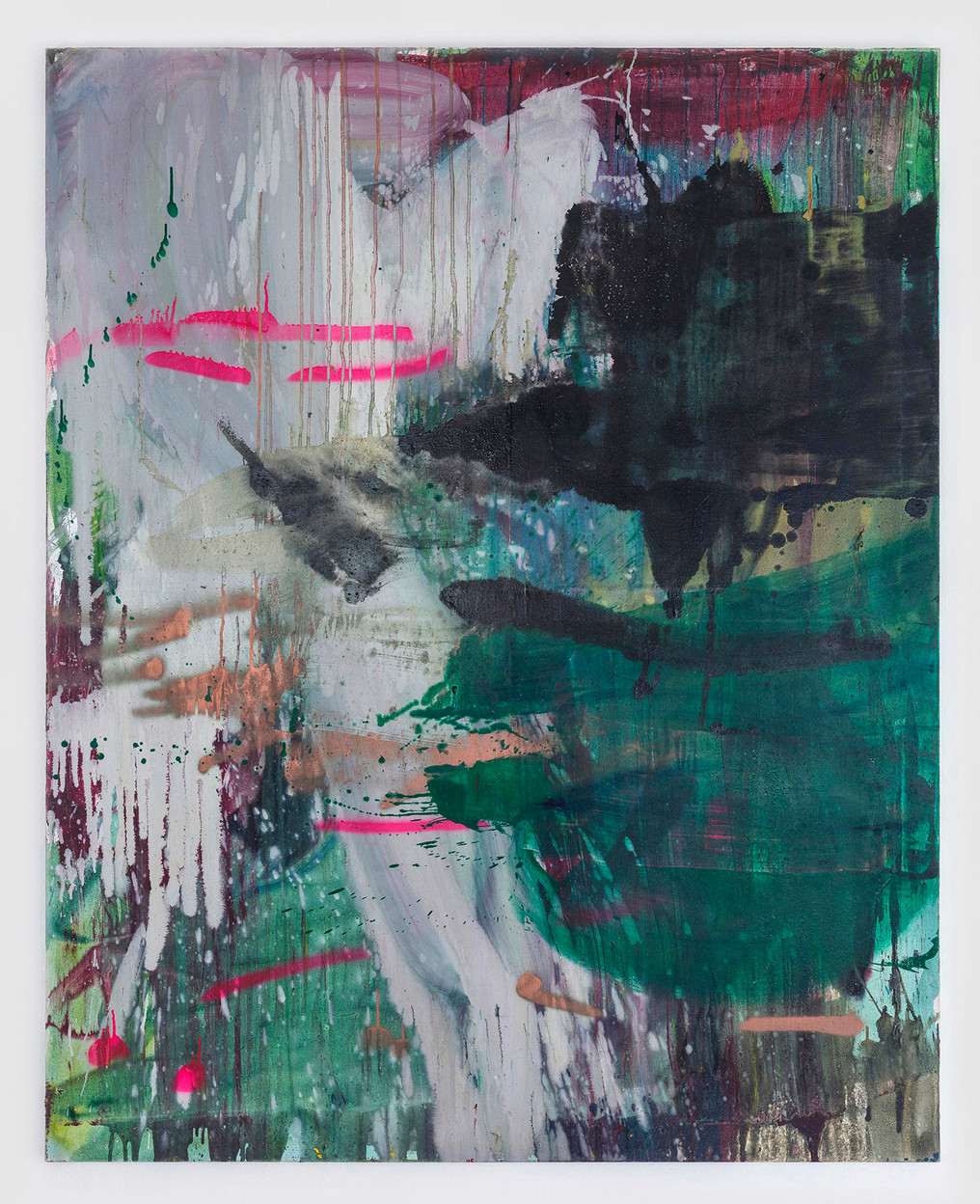 sem título 2017  óleo e esmalte sobre tela 150x120cm