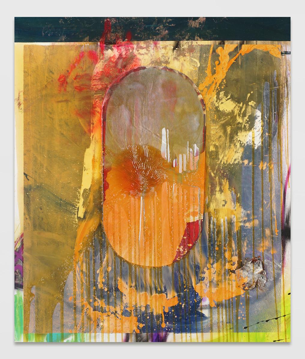 sem título 2019 óleo e esmalte sobre tela 170x145cm