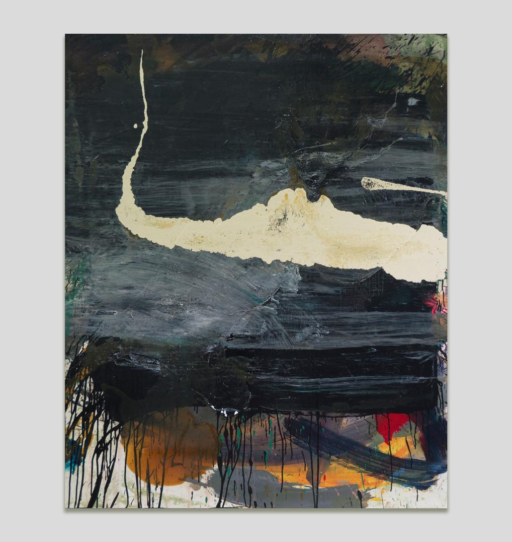 sem título 2018 óleo e esmalte sobre tela 160x150cm