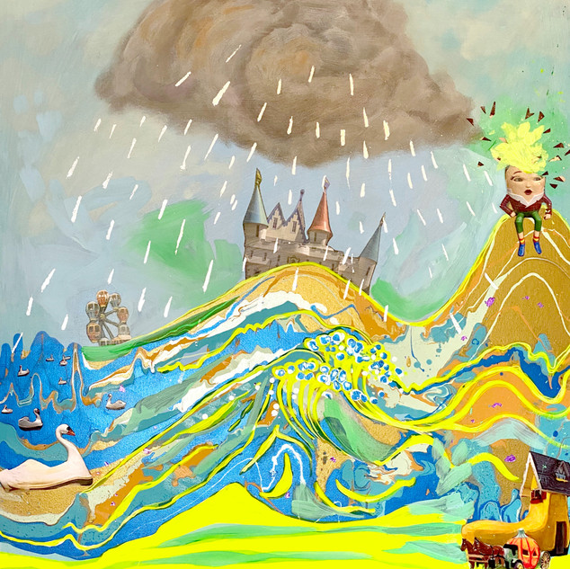 Great Wave of Storyland