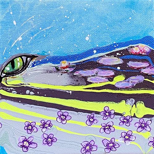 Cheshire in Monet's Garden