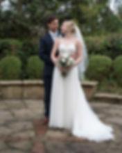 Georgia & James just married in Shrewsbury