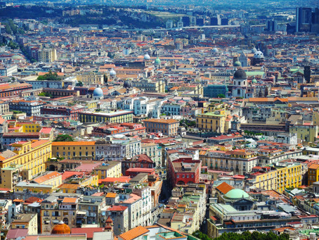 DAY 1: Meet me in Naples, Italy...