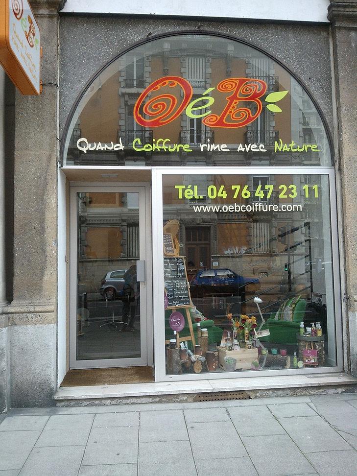 Coiffure oeb grenoble salon de coiffure 100 nature for Salon de coiffure grenoble