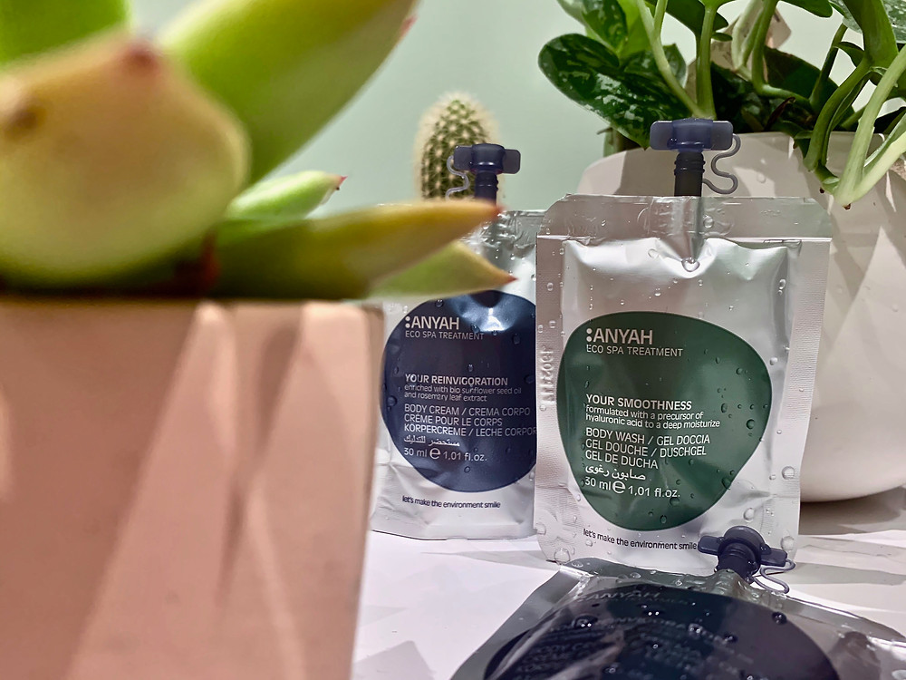 Any, a new range of eco toiletries, is now available to all our guests at The Smart 27. They are vegan, and make the environment smile, with more than 30% less co2 released on production