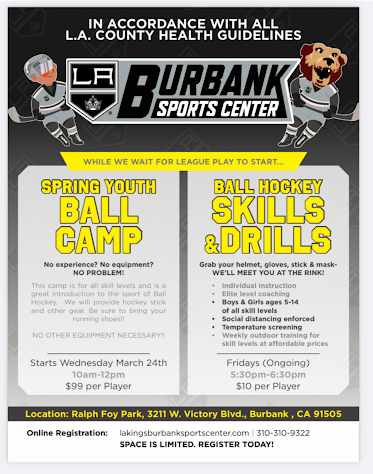 Spring Youth Ball Camp & Skills and Drills