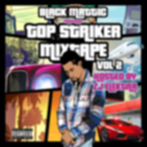 Top Striker Mixtape Vol. II Official Cov
