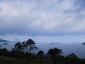 三城地区からも雲海は見れます!