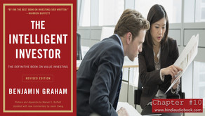 The Intelligent Investor Chapter $10 : The Investor and His Advisers