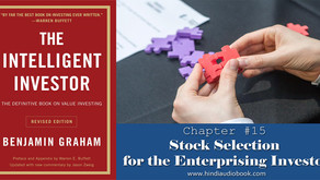 The Intelligent Investor in Hindi $15 : Stock Selection for the Enterprising Investor