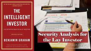 Security Analysis for the Lay Investor : General Approach