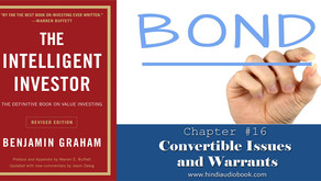 The Intelligent Investor in Hindi $16 : Convertible Issues and Warrants