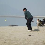 Rajnish Gupta Playing Cricket