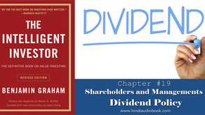 The Intelligent Investor in Hindi $19 : Shareholders and Managements Dividend Policy