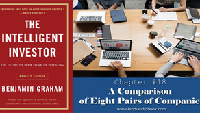 The Intelligent Investor in Hindi $18 : A Comparison of Eight Pairs of Companies