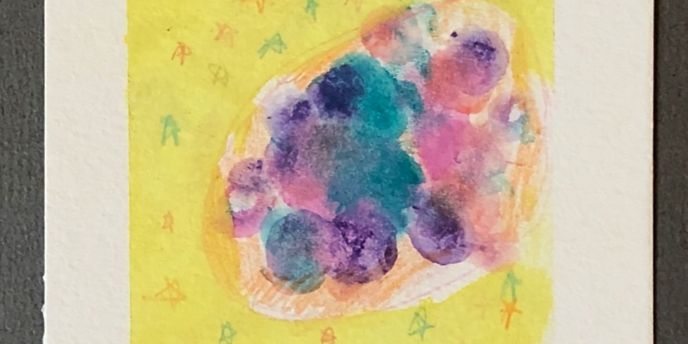 Abstract Watercolor Workshop at THREAD