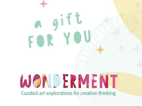 Wonderment E-Gift Card