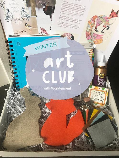 Art Club | Woodland Animals