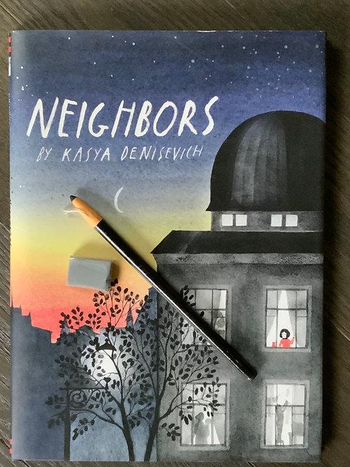 Neighbors Book Art Box