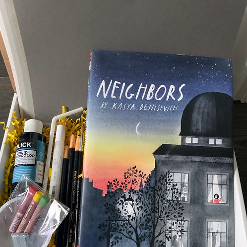 Neighbors Book Art Box