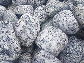 galet granit gris blanc
