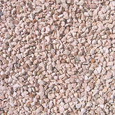 gravier rose saumon marbre