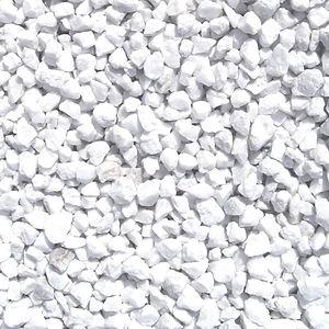 gravier blanc quartz