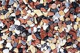 galet marbre multicouleur
