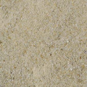 sable blanc fin enduit