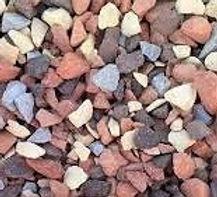 brique pilée multicolor