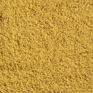 sable jaune fin enduit