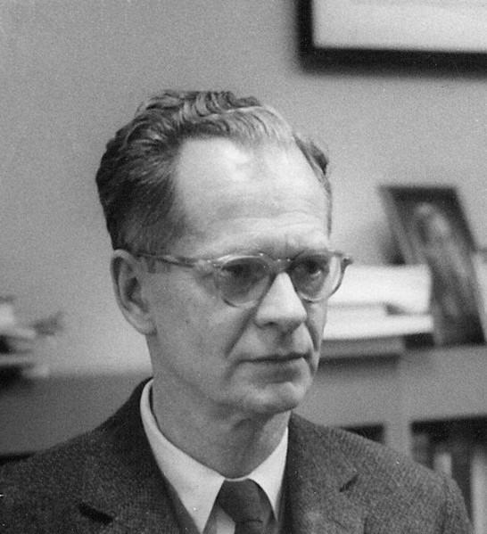 Bf Skinner at Harvard around 1950