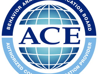 ACE Provider Status Renewed for 2018
