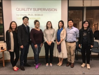 Quality Supervision by Ivy Chung, BCBA-D​